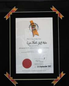 Certificate 2002 GCF Advanced