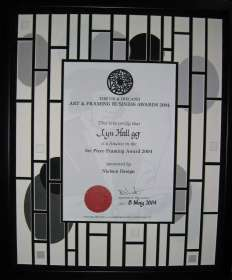 Certificate 2004 Charles Rennie MacKintosh