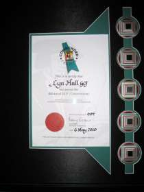 Certificate 2010 James-Bond
